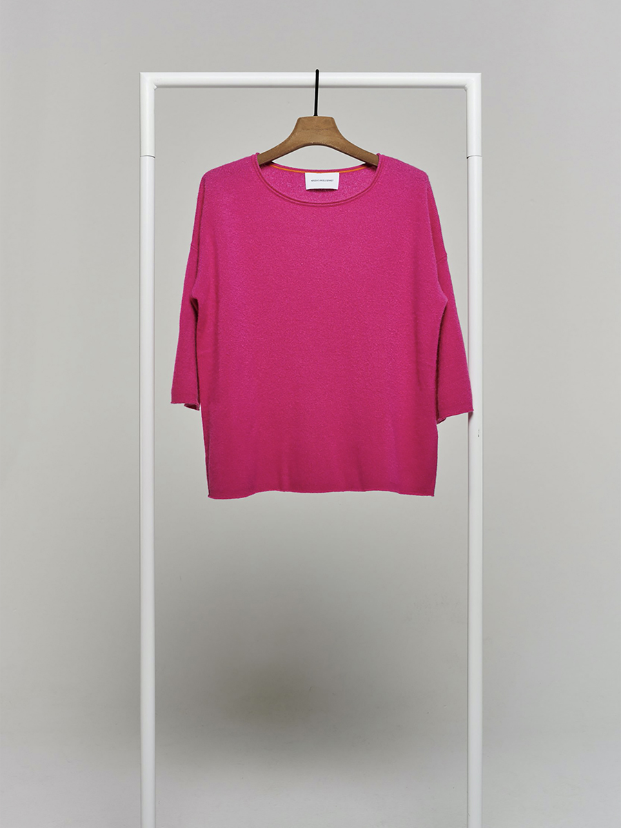 cashmere 34 sleeve pink